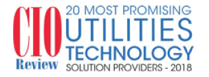 CIO Review 20 Most Promising Utilities Technology Solution Providers, 2018
